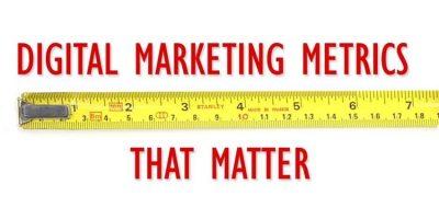 Metrics of digital marketing